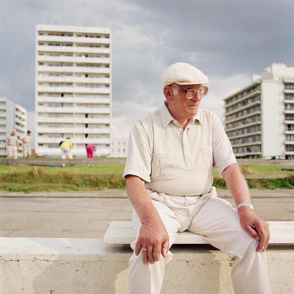Rentner, Urlaub an der Nordsee