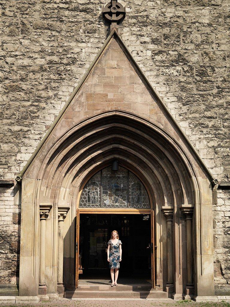 Corelia Rabeneck, Kircheneintritt