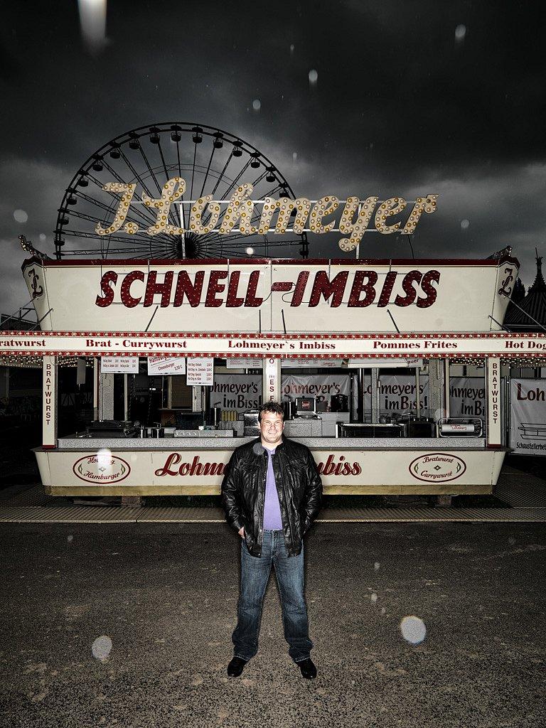 Michael Lohmeyer, Imbissbudenbetreiber