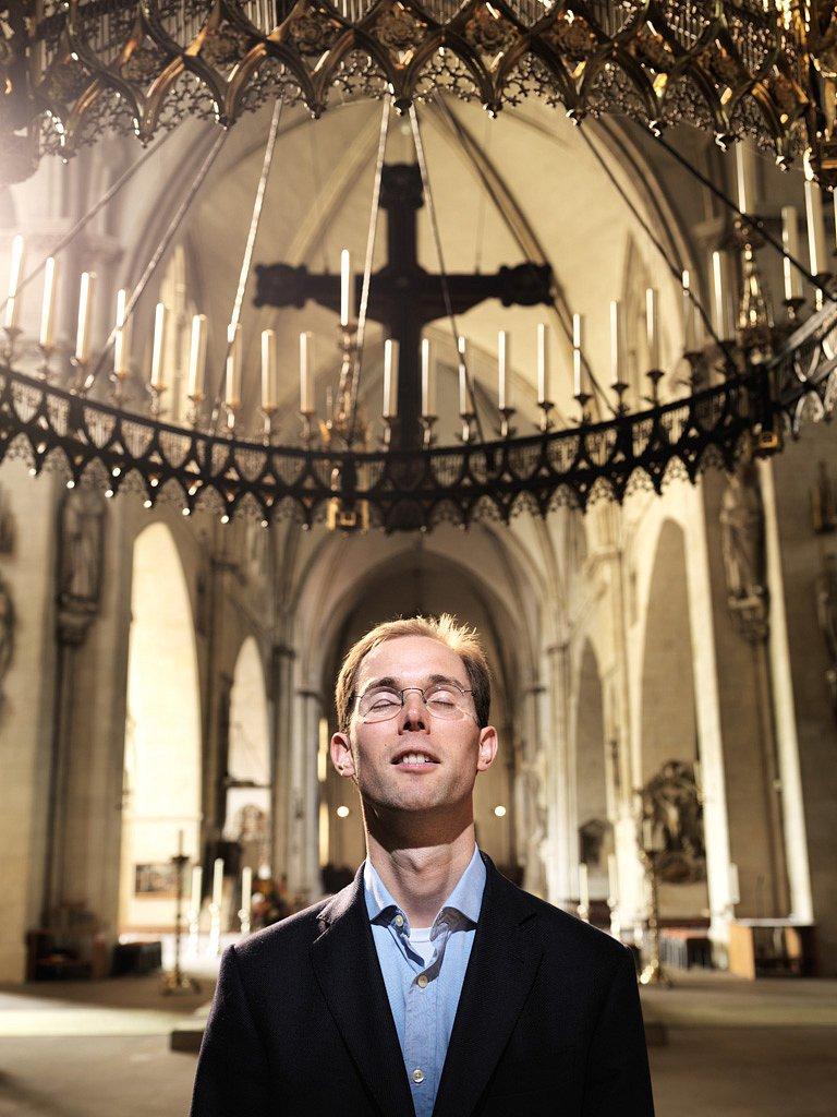 Oliver Rothe, Priesteranwärter