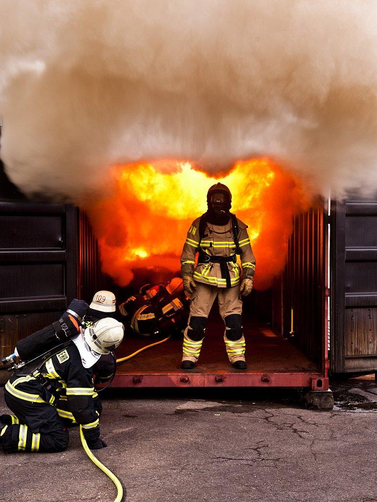 Joachim Posanz, Feuerwehrweltmeister