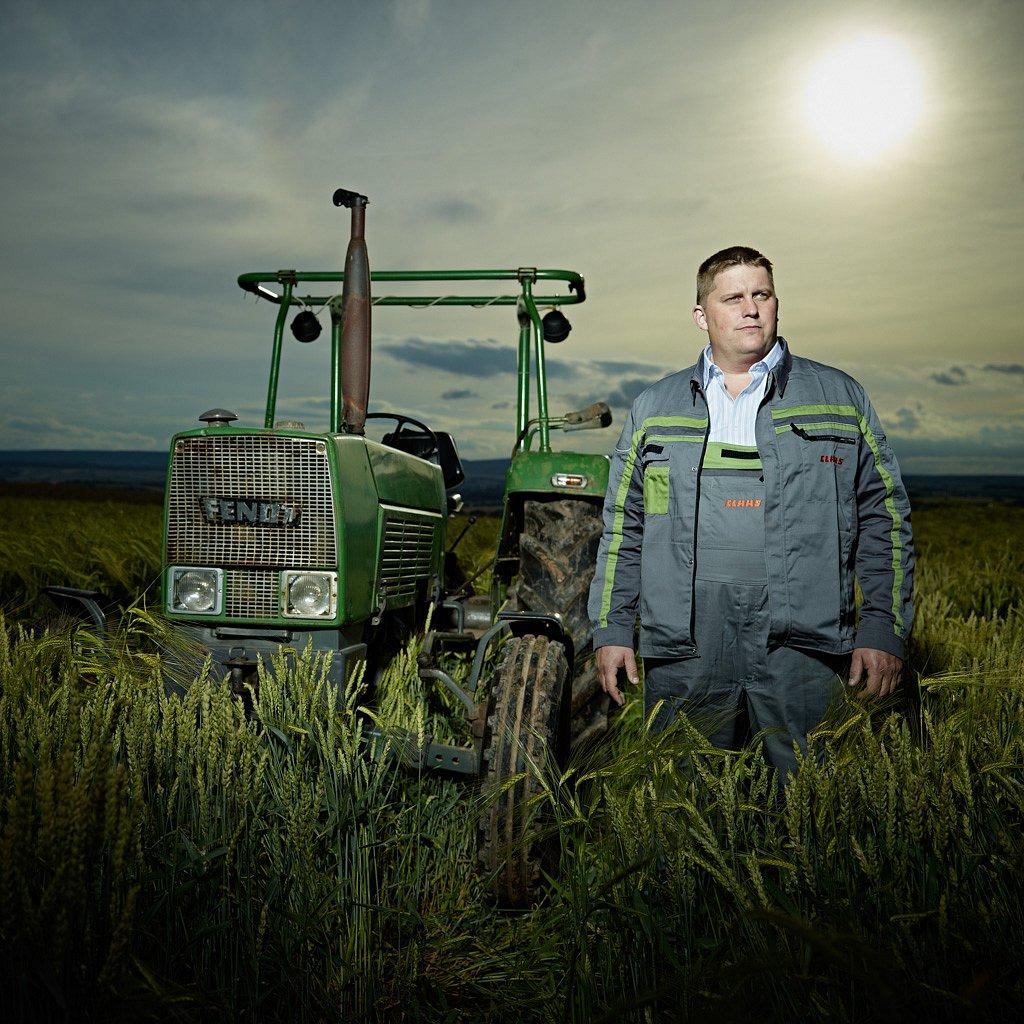 Daniel Morick, Landwirt