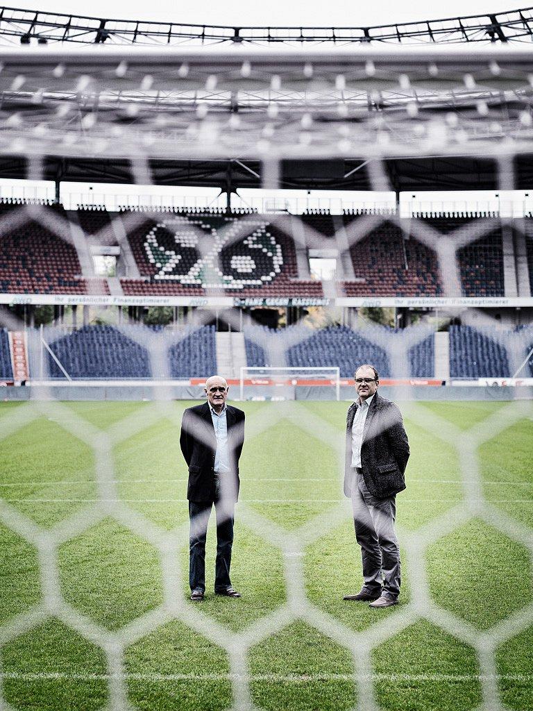 Martin Kind und Jörg Schmadtke, Hannover 96