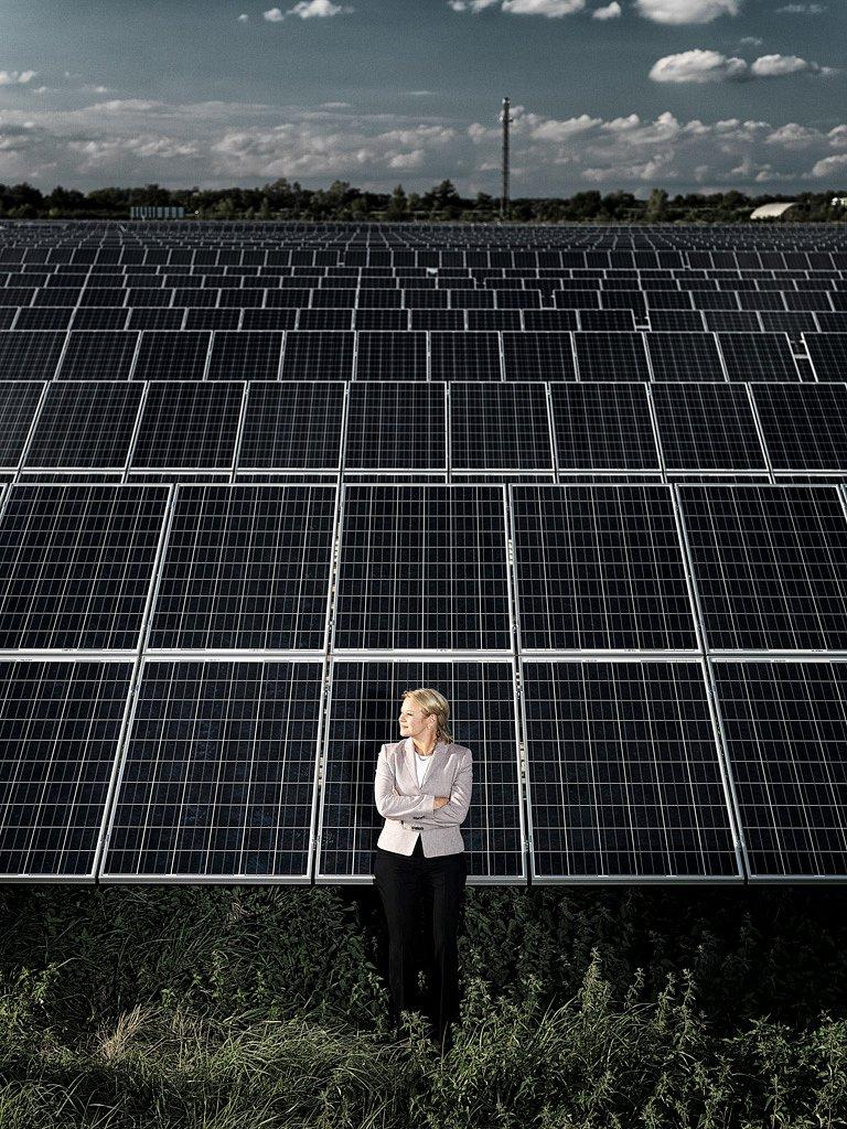 Dagmar Vogt, Photovoltaik